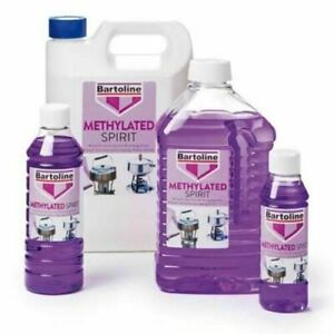 Methylated Spirit FUEL Burners Camping Stoves Clean Stain Removal 2L BARTOLINE