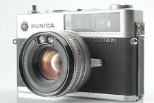 [ As Is ] Konica Electron Rangefinder 45mm f/1.8 MF Lens from Japan