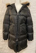 Parajumpers Jacket Long Peacoat Bear Masterpiece Women's Black Size Small ~ R2
