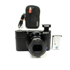 Sony Cyber-Shot DSC-RX100 20.2MP Digital SLR Camera Carl Zeiss - Black