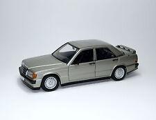 Mercedes-benz 190e 2.3-16 w201-humo plata Silver Argento-Autoart 76121 1:18