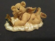 """New in Box 2002 Boyds Bear Collection Lil' Wings """"Ponder"""" Bear - Style #24160"""