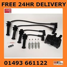 FORD FOCUS MK2 IGNITION COIL PACK HT PLUG LEADS SET NGK SPARK PLUGS 1.4 1.6 16V