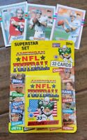 1989 TOPPS UNITED KINGDOM UK UNOPENED NFL CARD SET MONTANA MARINO ELWAY SEALED