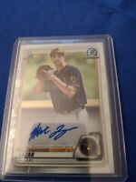 2020 Bowman Chrome Prospects Baseball 1st Bowman Autograph Max Lazar #CPA-ML