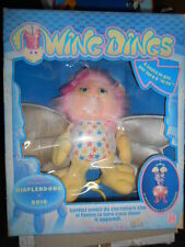 Bambola doll Wing Dings Plush Toy Glow in Dark Hasbro Collectable VINTAGE Rare