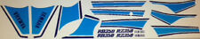 YAMAHA RD350 RZ350 YPVS 31K BLUE/WHITE PAINTWORK RESTORATION DECAL SET