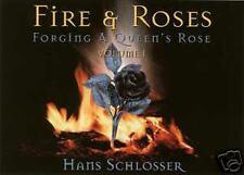 Fire & Roses DVD/Blacksmithing/Wrought Iron/Anvil