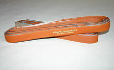 6 TAN GRIPS FAIRWAY ENGLISH LEATHER DBL HANDED TENNIS