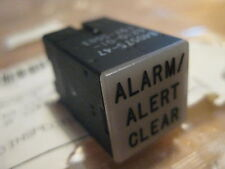 12 pieces Korry Indicator Light 'Alarm Alert Clear' Lens p/n 840575-47  New