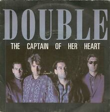 45 TOURS / 7' SINGLE--DOUBLE--THE CAPTAIN OF HER HEART--1985
