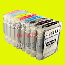 8 refillable cartridge w/ARC/pigment ink for HP 38 HP38 B8850 B9180 9180gp