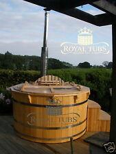 ***WOODEN HOT TUB*** 7 seater ! wood fired barrel bath spa hot tub ofuro pool