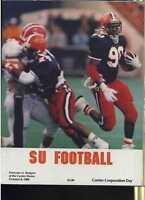 1988 Syracuse vs Rutgers football program MBX10
