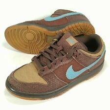 Nike Dunk Low 6.0 Baroque Brown Gum Tweed 314142-205 Mens Size 8