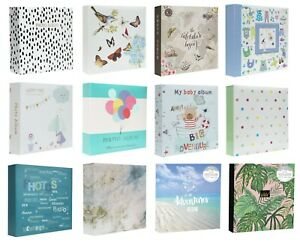 Large Photo Album 6x4 200 /500 Photos Slip In Baby Wedding Travel With Memo Area