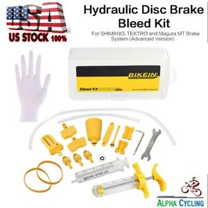 1 Set Sports Hydraulic Brake Bleed Tool Kit Bicycle Disc Bleeder Tool Set