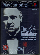 PS2 The Godfather Limited Edition (2006), UK Pal, New & Sony Factory Sealed
