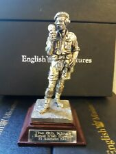Royal Hampshire The 8th Kings Royal Hussars El Alamein Pewter Figure