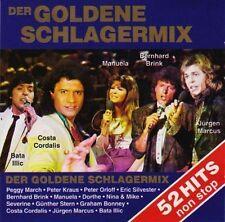 Der goldene Schlagermix (14 Interpreten, je 1 Mix) Jürgen Marcus, Peggy M.. [CD]