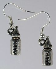 Bottle Earrings Hce207 Hand Made Baby
