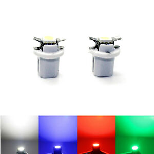 2x Tid Mid LED - Opel Astra G - High Power SMD Tacho Lighting Blue Red White