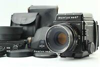 【MINT】 Mamiya RB67 Pro S + Sekor C 127mm f/3.8 Lens + 645 Film Back from JAPAN