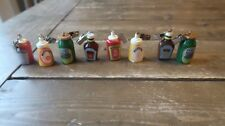 Vintage Christmas Tree Condiments Ketchup Pickle Clip Ornaments