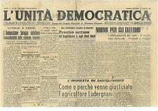 L'UNITA' DEMOCRATICA 28 MAGGIO 1946