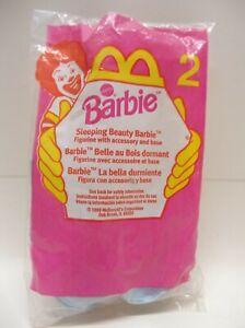 1999 McDonalds Barbie Sleeping Beauty Happy Meal Toy - figurine  #2 NIP NEW