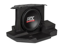 "MTX GENERAL 10 AMPLIFIED 10"" SUBWOOFER ENCLSOURE AMPLIFIED FOR UTV FREE SHIPPING"
