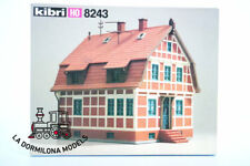 KIBRI 8243 H0 Costruzione Casa con grata di legno Borstel - NUOVO PER DI PACCA