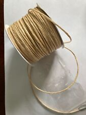 Cream tourbillion paper covered wire