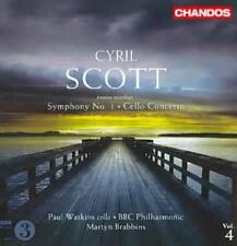 CYRIL SCOTT: SYMPHONY NO. 1; CELLO CONCERTO NEW CD