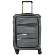 Travelite Motion 4-rollen Trolley s Vortasche 55 Cm Anthrazit