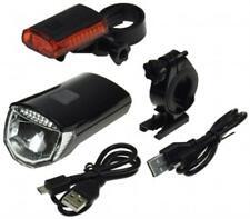 """Fahrrad LED-Beleuchtungsset """"CFL 30 pro"""" 30Lux Vorderlicht Rücklicht Bike StVZO"""