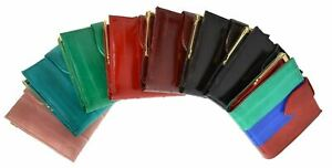 Genuine EEL SKIN French Coin Bifold w/Snap Button Wallet/Purse/Bag Small/Mini