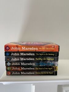 Lot of 6 Matched Paperback Books ~ JOHN MARSDEN ~ The Tomorrow Series ~ VGC!