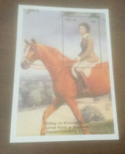 NEVIS THE QUEEN   $6 MNH  Stamp