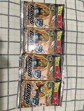 4 SEALED Dragon Ball Z Babidi Saga Booster Pack Collectible Card Game