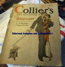 Collier's Magazine 5/11/27 May 11 1927 Godwin Cover Oppenheim Feted