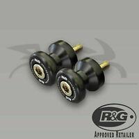 BMW S1000RR 2016 R&G Racing Black Cotton Reels Paddock Stand Bobbins