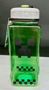 Minecraft  Creeper Water Bottle or Tumbler