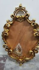 Rare hand carved Antique Ornate oval timber Frame, Picture holding, home decor-L
