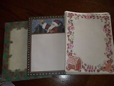 Over 100 Christmas Scrapbooking paper 8.5x11