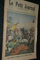 Le petit journal Supplément illustré N°584 / 26-1-1902 / Victoire française