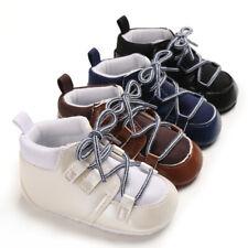 Arrived Fashion Newborn Baby Crib Shoes Infant Toddler Boys PreWalking Trainers