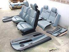 Inkl UMBAU BMW E93 M3 Cabrio Lederausstattung Sportsitze Sitze palladium silber