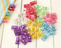 5 ~ 100 PC Plastic Side Holder Sewing clips For Crafts Quilting Sewing Knitting