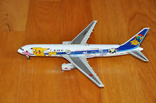"JC WINGS 2067 ANA BOEING B767-300 1/200 DIECAST MODEL - ""POKEMON"" LIVERY"